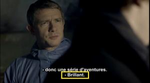 Sherlock BBC John faire valoir