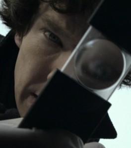 Sherlock BBC loupe